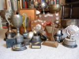 Trophies recovered - before polishing